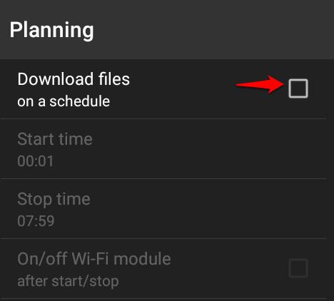 آموزش زمانبندی و دانلود خودکار فایل ها در دانلود منیجر ADM + تصاویر