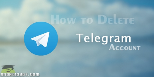 آموزش کامل حذف اکانت تلگرام Telegram + تصاویر