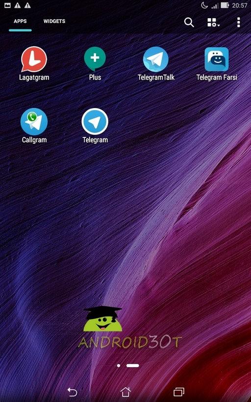 آموزش نصب 6 اکانت تلگرام در یک گوشی + فایل های لازم