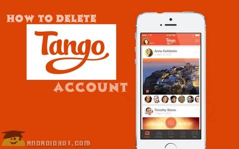 آموزش حذف اکانت تانگو Tango اندروید + تصاویر