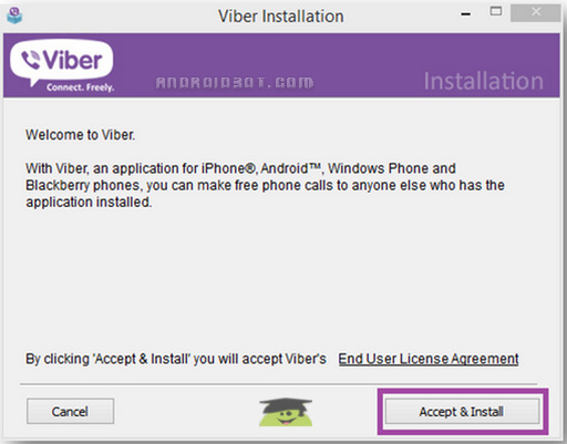 آموزش کامل نصب وایبر بر روی کامپیوتر + تصاویر + نصب بدون گوشی اندروید
